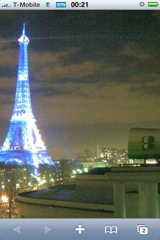I like Paris in the Night