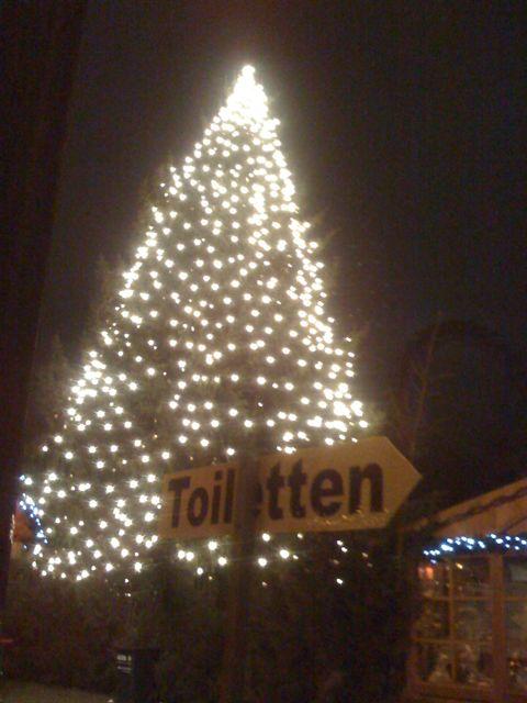 Toiletten Baum…