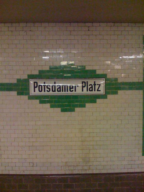 U-Bahn Potsdamer Platz