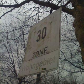 Verblasste Zone