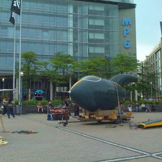 Spaceship arrived…
