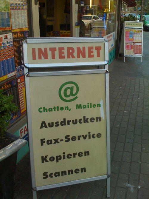 Internet Ausdrucker