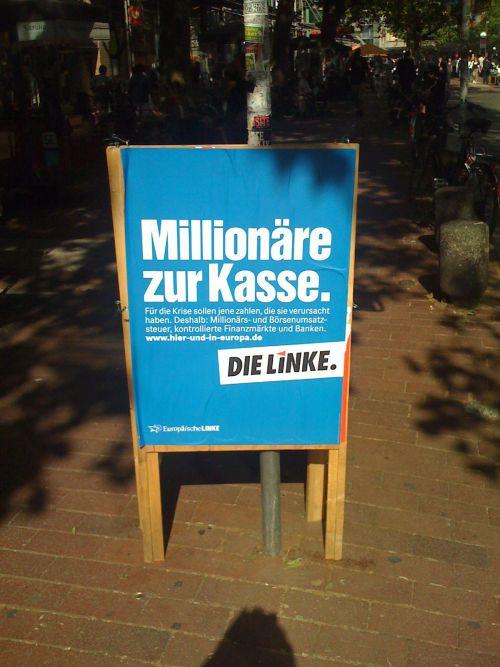 Millionäre zur Kasse