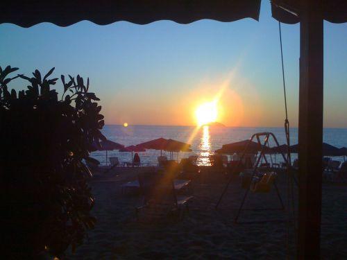Sunset Paximadia