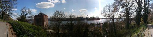Museumshafen und Burchardkai