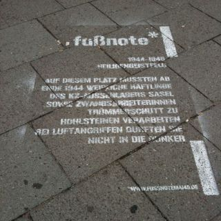 Fußnote Heiligengeistfeld