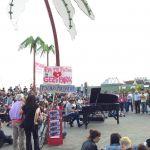 Konzert unter Palmen