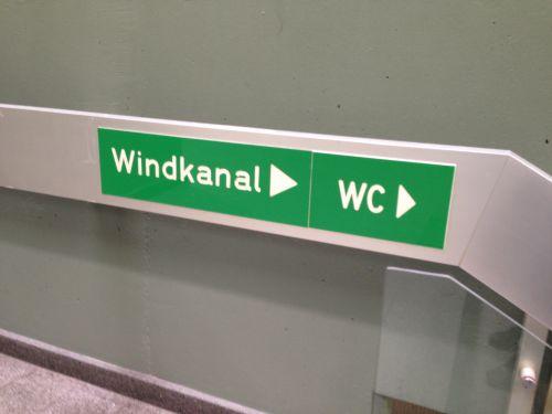 Windkanal WC