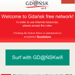 Gdansk free network