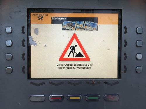 Dieser Automat…