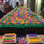 Auf die Eier mit der Eierei
