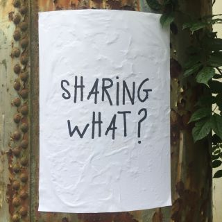 Sharing what?