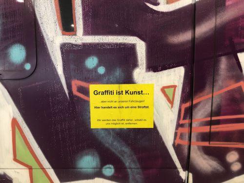Graffiti ist Kunst