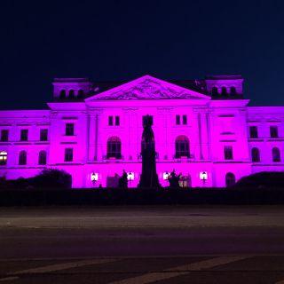 Rathaus Pink