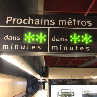 Prochains métros