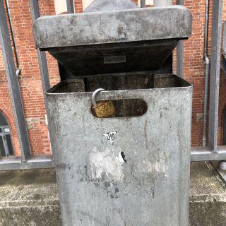 Liebe bis in den Müll